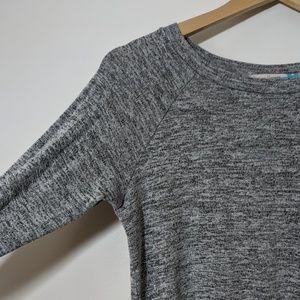 Vintage Havana Tops - Vintage Havana Gray Sweatshirt with Camo Back